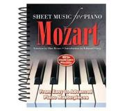 Book Wolfgang Amadeus Mozart Sheet Music for Piano