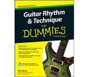 Book Guitar Rhythm and Technique for Dummies, Book + Online Video & Audio Instruction