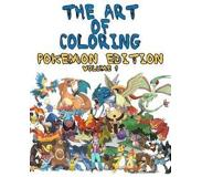 Book The Art of Coloring - Pokemon Edition: An Inky Adventure - Coloring Book for Kids and Adults