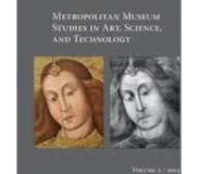 Book Metropolitan Museum Studies in Art, Science, and Technology