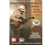 Book Electric Blues & Rock Guitar: The 1930s, 40s and 50s [With 3 CDs]