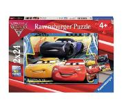 Ravensburger Cars 3 Puzzle 2x24pcs ,