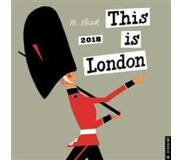 Book This is London 2018 Wall Calendar