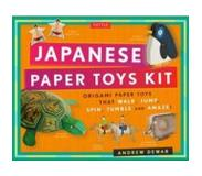 Book Japanese Paper Toys Kit