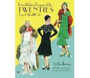 Book Great Fashion Designs of the Twenties Paper Dolls in Full Colour