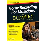 Book Home Recording for Musicians For Dummies