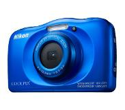 Nikon Digital camera Nikon 13.2 MPix Optical zoom: 3 x Blue Full HD Video, Underwater camera, Shockproof, Wi-Fi