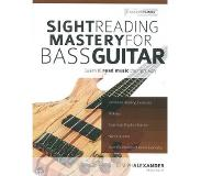 Book Sight reading mastery for bass guitar : learn to read music the right way