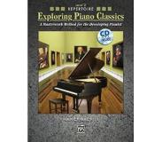 Book Exploring Piano Classics Repertoire, Level 2: A Masterwork Method for the Developing Pianist [With CD (Audio)]