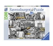 Ravensburger New York Cabs Puzzle 1500pcs ,