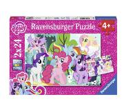 Ravensburger MY LITTLE PONY -palapeli, 2 x 24