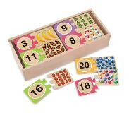 Melissa & Doug Self-Correcting Number Puzzles 40kpl