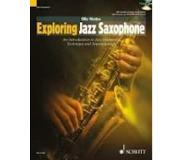 Book Exploring Jazz Saxophone