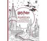 Book Harry Potter Magical Places and Characters Colouring Book