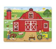 Melissa & Doug Palapeli Around the Farm Sound