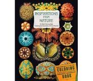 Book Inspirations from Nature: An Adult Coloring Book Featuring the Illustrations of Ernst Haeckel