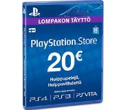 Sony Playstation Store wallet