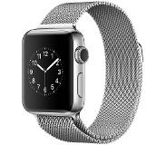Apple Watch Series 2 38mm Stainless Steel with Silver Milanese Loop