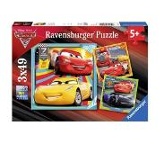 Ravensburger Cars 3 Puzzle 3x49pcs ,