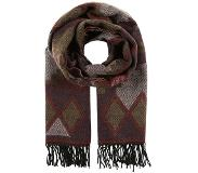 Vero moda VMVILLA LONG SCARF Huivi decadent chocolate One Size