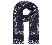 Armani Exchange Connected SCARF Huivi navy/white One Size