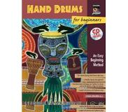 Book Hand Drums for Beginners: An Easy Beginning Method, Book & CD