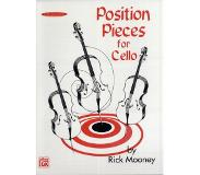 Book Position Pieces for Cello