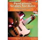 Book Pentatonic Scales for Bass: Fingerings, Exercises and Proper Usage of the Essential Five-Note Scales [With CD (Audio)]