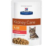 Hill's Pet Nutrition Feline k/d Kidney Care - lohi - 24 x 85 g