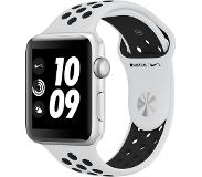Apple WATCH SERIES 3 NIKE+ 42MM PLATINA/MUSTA URHEILURANNEKE