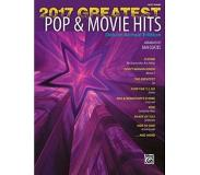 Book 2017 Greatest Pop & Movie Hits - Easy Piano