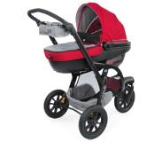 Chicco Travel System Trio Activ3 ja Car-Kit, Red Berry - punainen