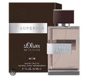 S.oliver Miesten tuoksut Superior Men Eau de Toilette Spray 50 ml