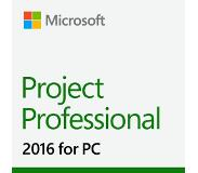Microsoft Project Professional 2016, 1u