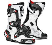 Sidi Mag-1 Air White Black Motorcycle Boots 43