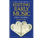Book Editing Early Music