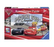 Ravensburger Cars 3 Puzzle 2x12pcs ,