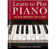 Book Learn to Play the Piano in Six Weeks or Less