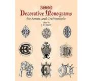 Book 5000 Decorative Monograms for Artists and Craftspeople