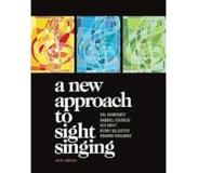 Book A New Approach to Sight Singing