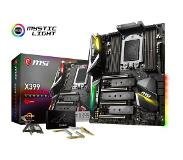 MSI X399 GAMING PRO CARBON AC AMD X399 Socket TR4 ATX emolevy