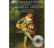 Book Easy Baroque Pieces For Classical Guitar [With Cd (Audio)]