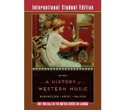 Book A History of Western Music