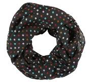 Pieces PCRENEE TUBE SCARF Tuubihuivi black One Size