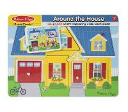 Melissa & Doug Palapeli Around the House Sound