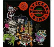 Book Stickerbomb Monsters