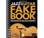 Book Jazz Guitar Fake Book - Volume 1: Lead Sheets for 200 Jazz Standards