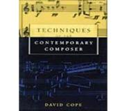 Book Techniques of the Contemporary Composer