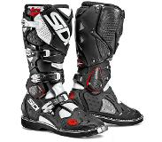 Sidi Crossfire 2 Black White Motorcycle Boots 45