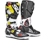 Sidi Crossfire 2 SRS White Black Fluo Yellow Motorcycle Boots 42
